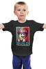 """Детская футболка классическая унисекс """"Лего Строитель"""" - строитель, lego, постер, лего, build"""