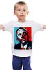 """Детская футболка """"Обама"""" - usa, обама, сша, президент, власть, obama"""