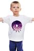 """Детская футболка классическая унисекс """"Космический Пончик (Space Donut)"""" - пончик, donut, космический пончик, space donut"""