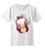 """Детская футболка классическая унисекс """"Obey milkman"""" - арт, авторские майки, obey, молочник"""