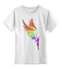 """Детская футболка классическая унисекс """"Mozart L`opera Rock """" - арт, авторские майки, wings, рисунок, color"""