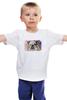 """Детская футболка классическая унисекс """"Бульдог"""" - арт, собаки, bulldog, будьдог, авторсое"""