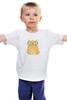 "Детская футболка ""Умная кошка"" - кошка, модно, котик, casual"