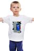 """Детская футболка классическая унисекс """"101 Далмантинец и Тардис"""" - doctor who, tardis, доктор кто, тардис, 101 dalmatians"""