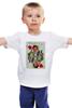 """Детская футболка """"Королева сердец"""" - любовь, карты, рисунок, винтаж, королева"""