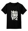 "Детская футболка классическая унисекс ""blink-182 smile "" - ava, blink 182, angelsandairwaves, blink182"