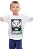 """Детская футболка классическая унисекс """"Доктор Дум (Doctor Doom)"""" - доктор дум, doctor doom, fantastic four, виктор фон дум, victor von doom"""