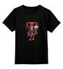 "Детская футболка классическая унисекс ""Бендер х Дэдпул"" - futurama, бендер, deadpool, дэдпул"
