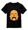 """Детская футболка классическая унисекс """"Борода IV"""" - борода, усы, mustache"""