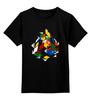 """Детская футболка классическая унисекс """"Кубик Рубика"""" - головоломка, абстракция, кубик рубика"""