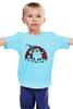 """Детская футболка классическая унисекс """"Кот Саймона в походе"""" - коты, simons cat, кот саймона, саймон"""