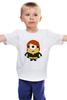 """Детская футболка """"Миньоны"""" - мстители, тор, despicable, вдова, mignon"""