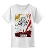 """Детская футболка классическая унисекс """"Godzilla Japan"""" - годзилла, godzilla"""