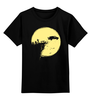 "Детская футболка классическая унисекс ""Зомби"" - zombie, зомби"