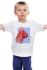 """Детская футболка классическая унисекс """"Недоумевающая глазастая рыба"""" - рыба, fish, what, шта"""