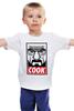 """Детская футболка классическая унисекс """"Повар"""" - obey, во все тяжкие, breaking bad, heisenberg, cook"""