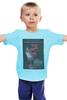 """Детская футболка """"Девушка с татуировкой дракона"""" - девушка, дракон, тату, афиша, kinoart"""