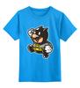 """Детская футболка классическая унисекс """"Batman x Mario"""" - batman, бэтмен, mario, марио"""