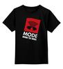 "Детская футболка классическая унисекс ""Depeche Mode / Behind The wheel"" - англия, depeche mode, депеш мод, synthpop, синти-поп"