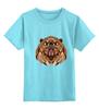 """Детская футболка классическая унисекс """"Медведь"""" - bear, медведь, animal"""