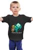 """Детская футболка классическая унисекс """"""""BIMO"""" Время приключений """" - скейтборд, adventure time, время приключений, skateboard, finn"""