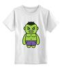 """Детская футболка классическая унисекс """"Без названия"""" - hulk, мстители, avengers, халк"""