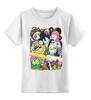 """Детская футболка классическая унисекс """"Adventure Time """" - adventure time, время приключений, фин, джейк, jake, finn, бубльгум"""