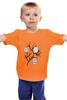 """Детская футболка """"Owl's party"""" - арт, party, сова, пати, совэ"""
