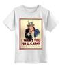 "Детская футболка классическая унисекс ""ретро постер"" - арт, ретро, ussa, сша, постер"