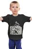 """Детская футболка """"девушка на велосипеде"""" - спорт, bmx, велосипед, street, bike, стрит, велоспорт, дерт, фрирайд, freeride"""