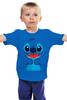 """Детская футболка классическая унисекс """"Стич (Лило и Стич)"""" - стич, лило и стич, lilo and stitch"""