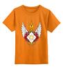 """Детская футболка классическая унисекс """"My Little Pony - герб Celestia (Селестия)"""" - mlp, пони, герб, принцесса селестия, селестии"""