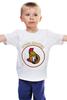 """Детская футболка классическая унисекс """"Ottawa Senators"""" - спорт, хоккей, nhl, нхл, ottawa senators"""