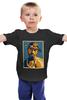 """Детская футболка классическая унисекс """"Тупак Шакур (2pac)"""" - поп арт, рэп, 2pac, тупак, tupac"""