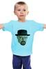 "Детская футболка ""Уолтер Уайт"" - во все тяжкие, breaking bad, walter white, уолтер уайт, полигоны"