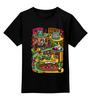"""Детская футболка классическая унисекс """"LET'S FUN"""" - fun, city, color, eccentric"""