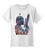 """Детская футболка классическая унисекс """"Боба Фетт"""" - star wars, звездные войны, боба фетт, охотник за головами"""