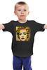 """Детская футболка классическая унисекс """"Madonna"""" - музыка, pop art, madonna, мадонна"""