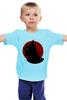 """Детская футболка классическая унисекс """"Бэтмен (Batman)"""" - batman, бэтмен, супергерой, justice"""