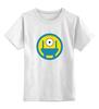 """Детская футболка классическая унисекс """"Миньон"""" - миньон, гадкий я, minion"""