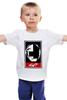 """Детская футболка классическая унисекс """"Daft Punk"""" - obey, электроника, daft punk, техно, дафт панк"""