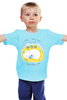 """Детская футболка """"Тихий час"""" - медведь, sleep, мишка, домик, очки, сон, птицы, лес, природа, dreams"""