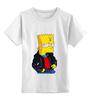 """Детская футболка классическая унисекс """"BART"""" - the simpsons"""