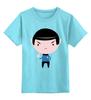 """Детская футболка классическая унисекс """"Спок (Star Trek)"""" - star trek, спок, звёздный путь"""