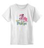 """Детская футболка классическая унисекс """"Моя маленькая Пони (My little pony)"""" - my little pony, моя маленькая пони"""