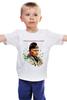 """Детская футболка классическая унисекс """"Путин - Самый вежливый из людей"""" - путин, putin, санкции"""