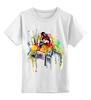 """Детская футболка классическая унисекс """"Футболка """"Прыжки в высоту"""""""" - авторские майки"""