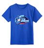"""Детская футболка классическая унисекс """"Blue Bombers (Mega Man)"""" - nintendo, mega man, rockman"""