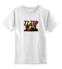 """Детская футболка классическая унисекс """"ZZ TOP"""" - крутые, old, blues, zztop, zz, sharp dressed man, ззтоп, старики, мощные"""