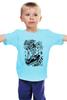 """Детская футболка классическая унисекс """"Art Horror"""" - skull, череп, skeleton, скелет, гроб"""